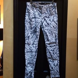 J Brand printed jeans